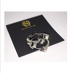 🙀 House of Harlow 3-Set of Stackable Rings NWT 7